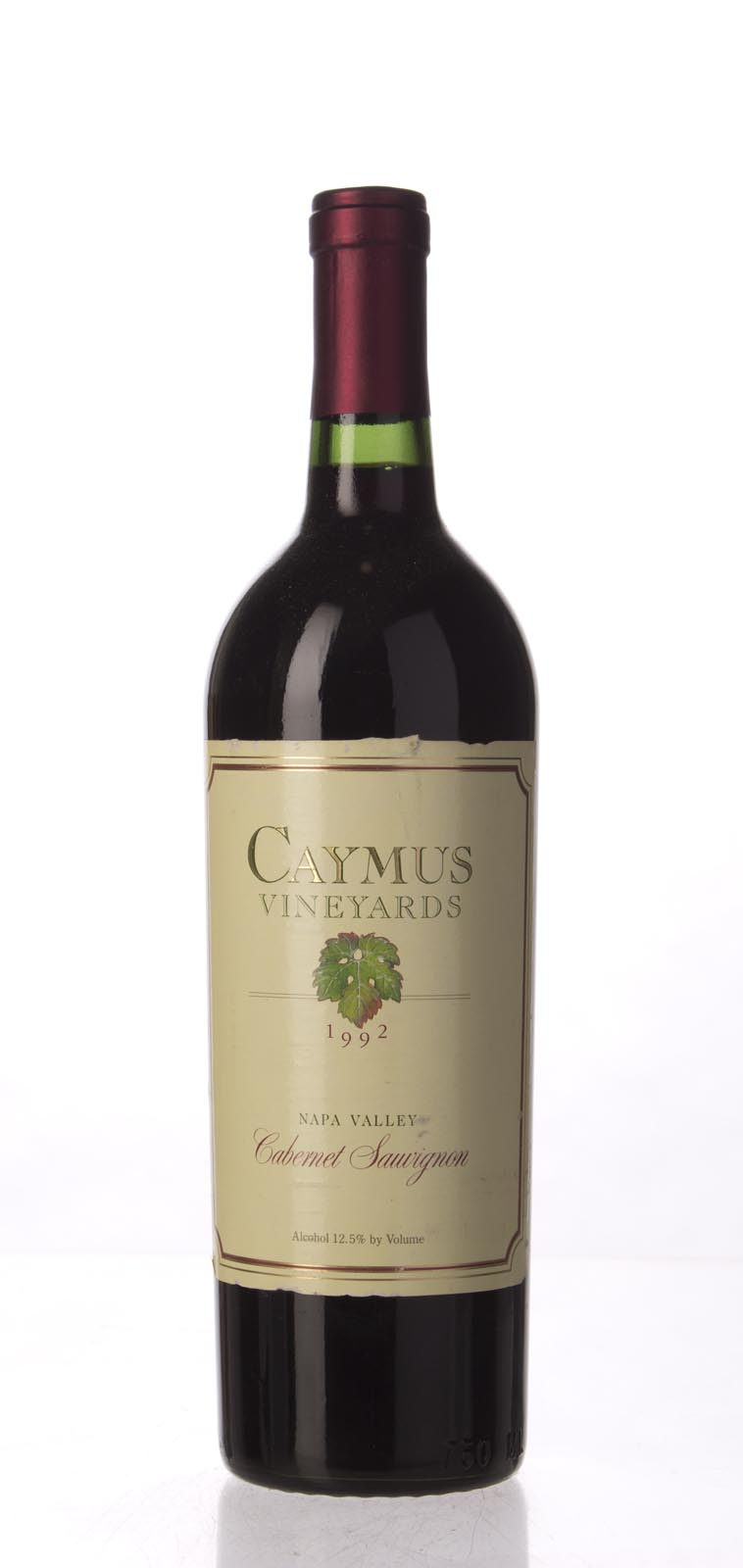 Caymus Cabernet Sauvignon Napa Valley 1992, 750mL (WA89) from The BPW - Merchants of rare and fine wines.
