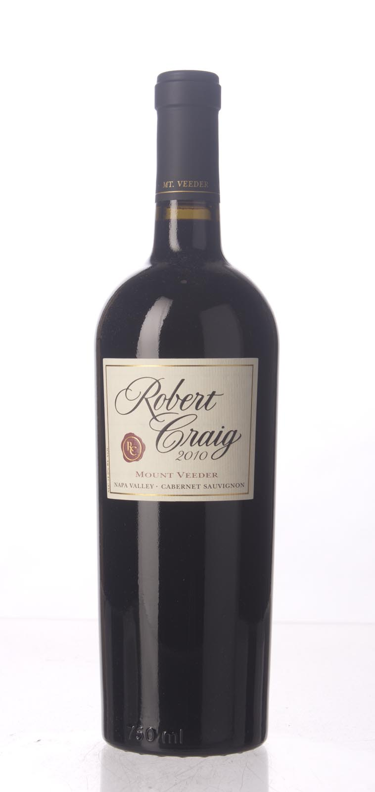 Robert Craig Cabernet Sauvignon Mount Veeder 2010, 750mL (WA93+, ST91+) from The BPW - Merchants of rare and fine wines.