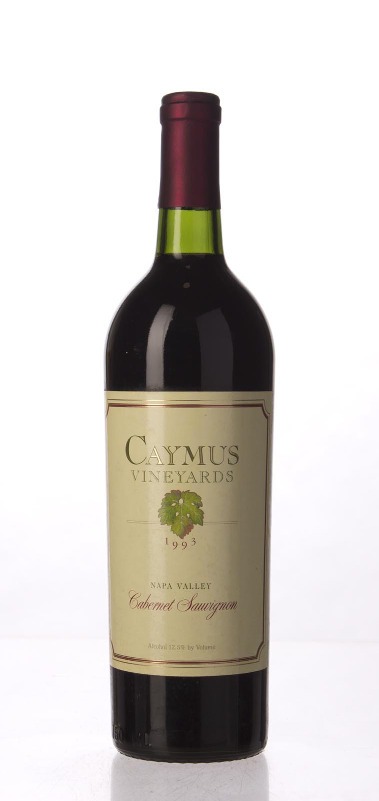 Caymus Cabernet Sauvignon Napa Valley 1993, 750mL (WS91) from The BPW - Merchants of rare and fine wines.