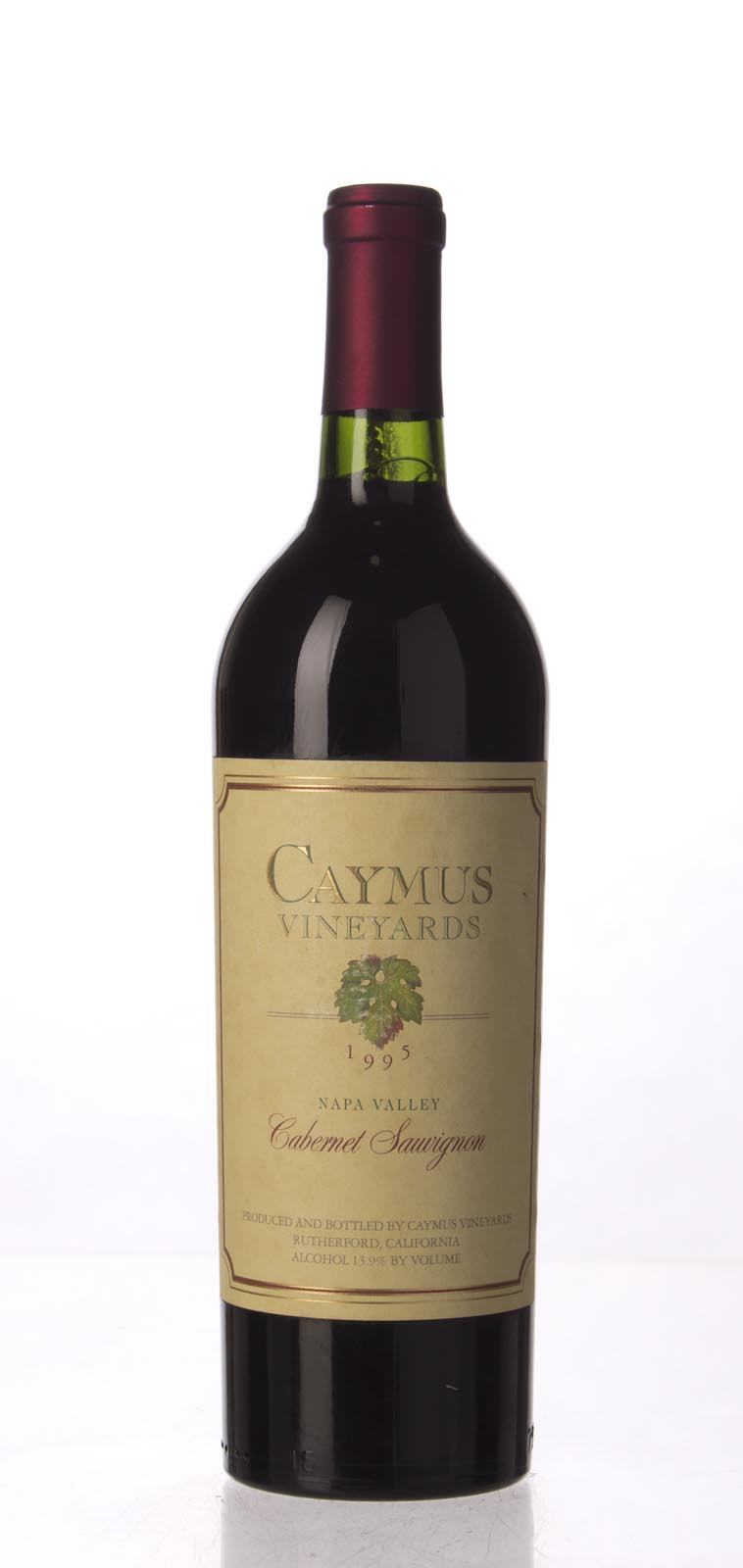 Caymus Cabernet Sauvignon Napa Valley 1995, 750mL (WS92) from The BPW - Merchants of rare and fine wines.