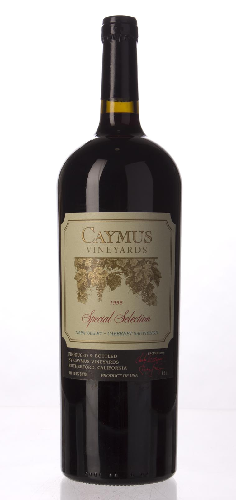 Caymus Cabernet Sauvignon Special Selection 1995, 1.5L (WS97) from The BPW - Merchants of rare and fine wines.