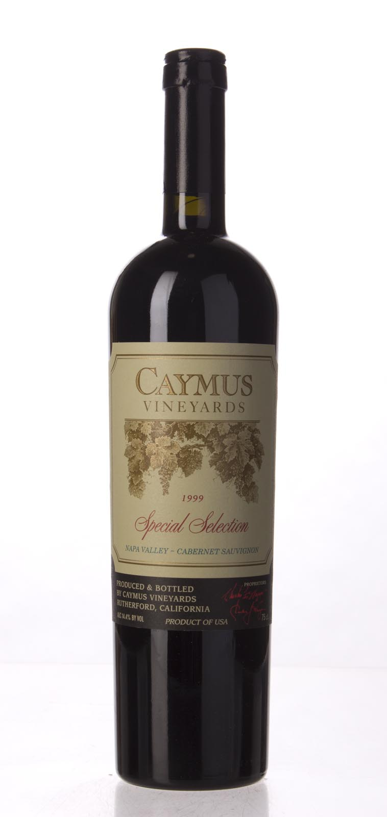 Caymus Cabernet Sauvignon Special Selection 1999, 750mL (WS95) from The BPW - Merchants of rare and fine wines.