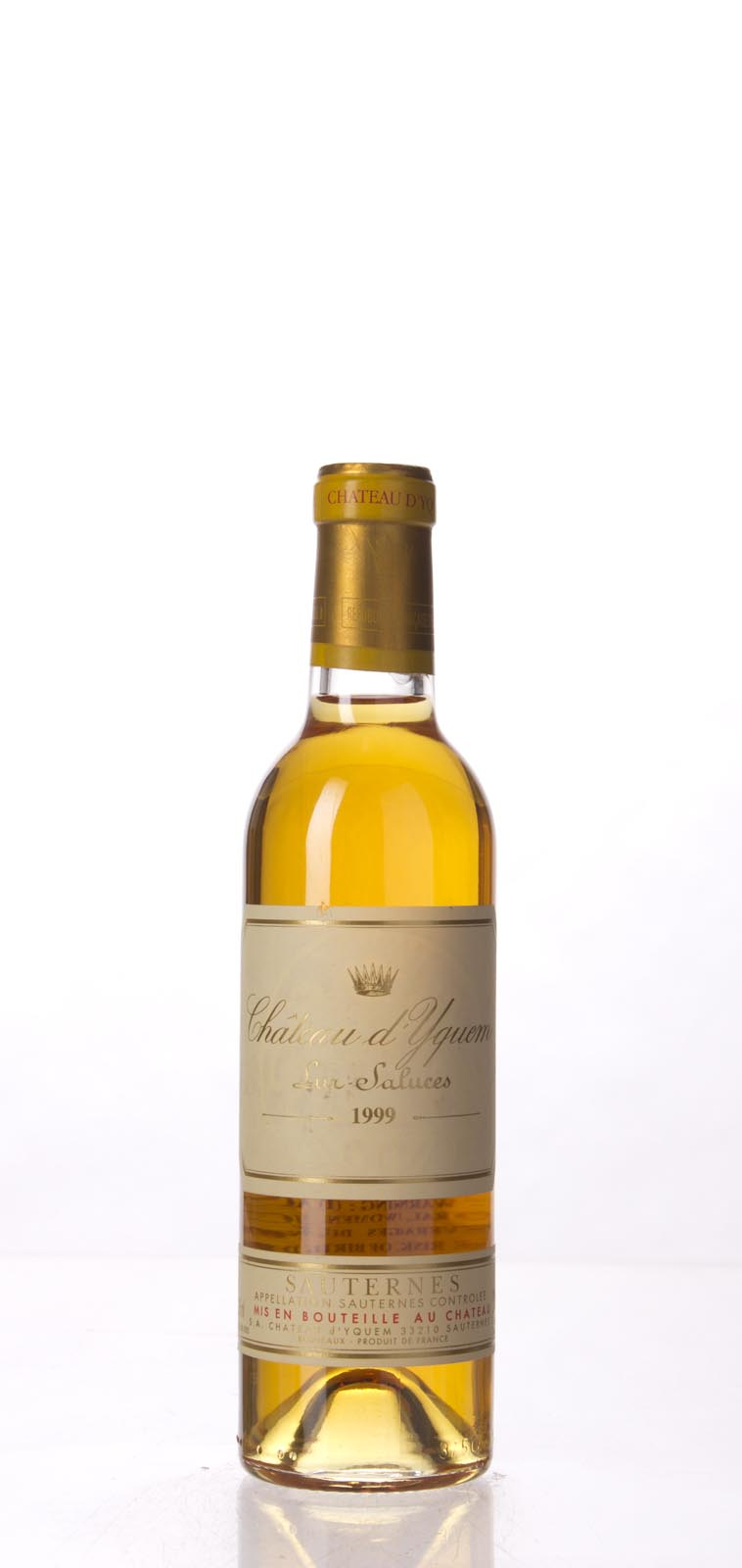 Chateau d`Yquem 1999, 375mL (WA92) from The BPW - Merchants of rare and fine wines.