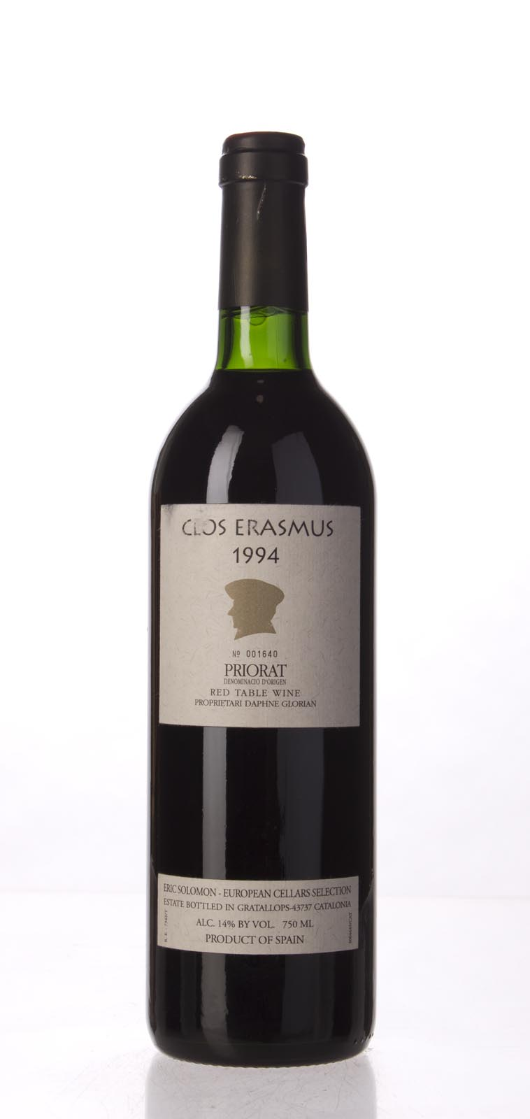 Clos I Terrasses Clos Erasmus 1994,  (WA99) from The BPW - Merchants of rare and fine wines.