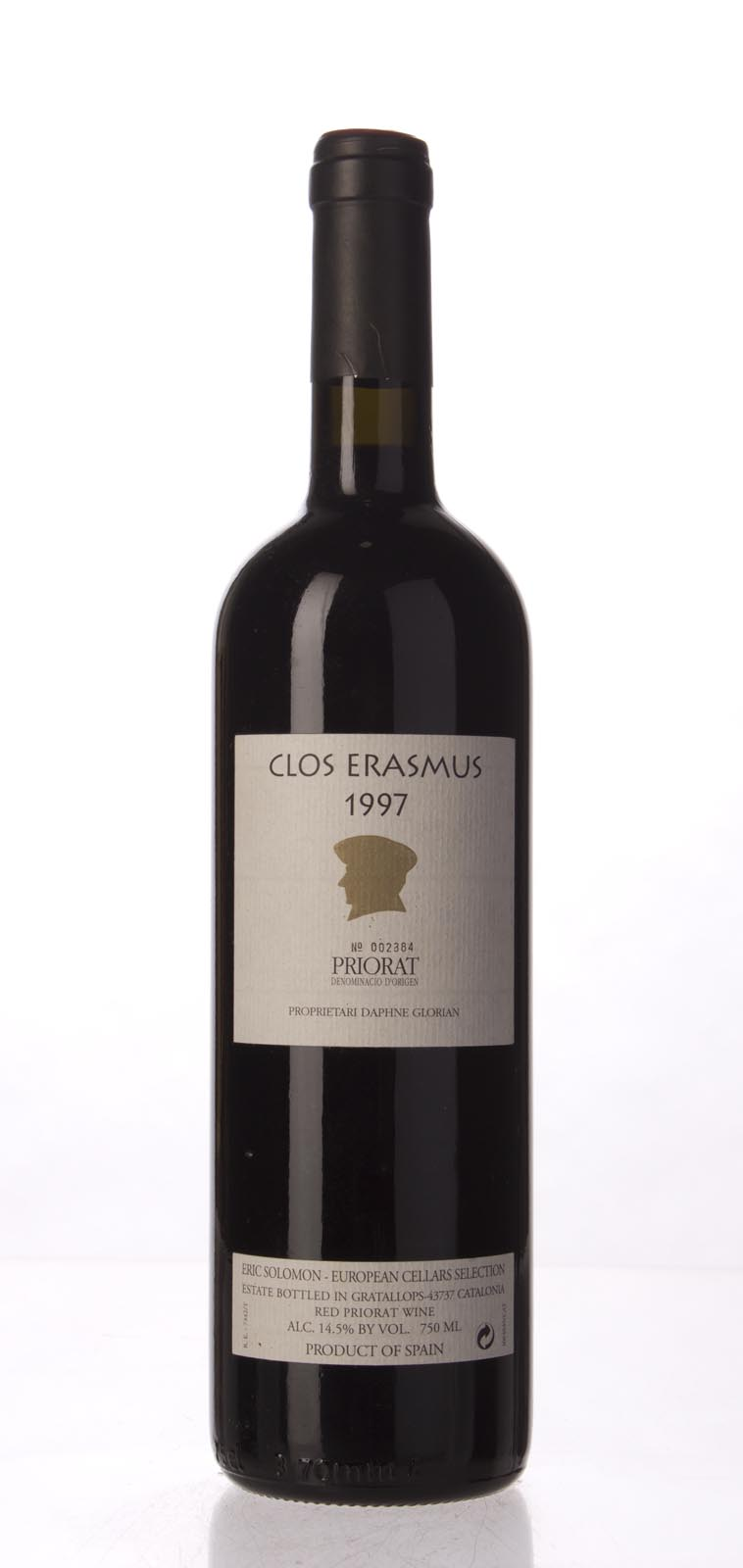 Clos I Terrasses Clos Erasmus 1997, 750mL (WA93, WS93) from The BPW - Merchants of rare and fine wines.