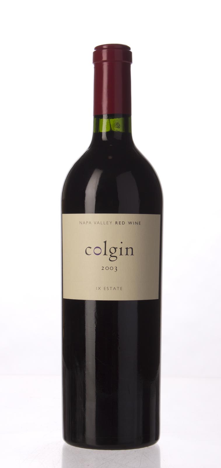 Colgin Proprietary Red IX Estate 2003, 750mL (WA96+) from The BPW - Merchants of rare and fine wines.