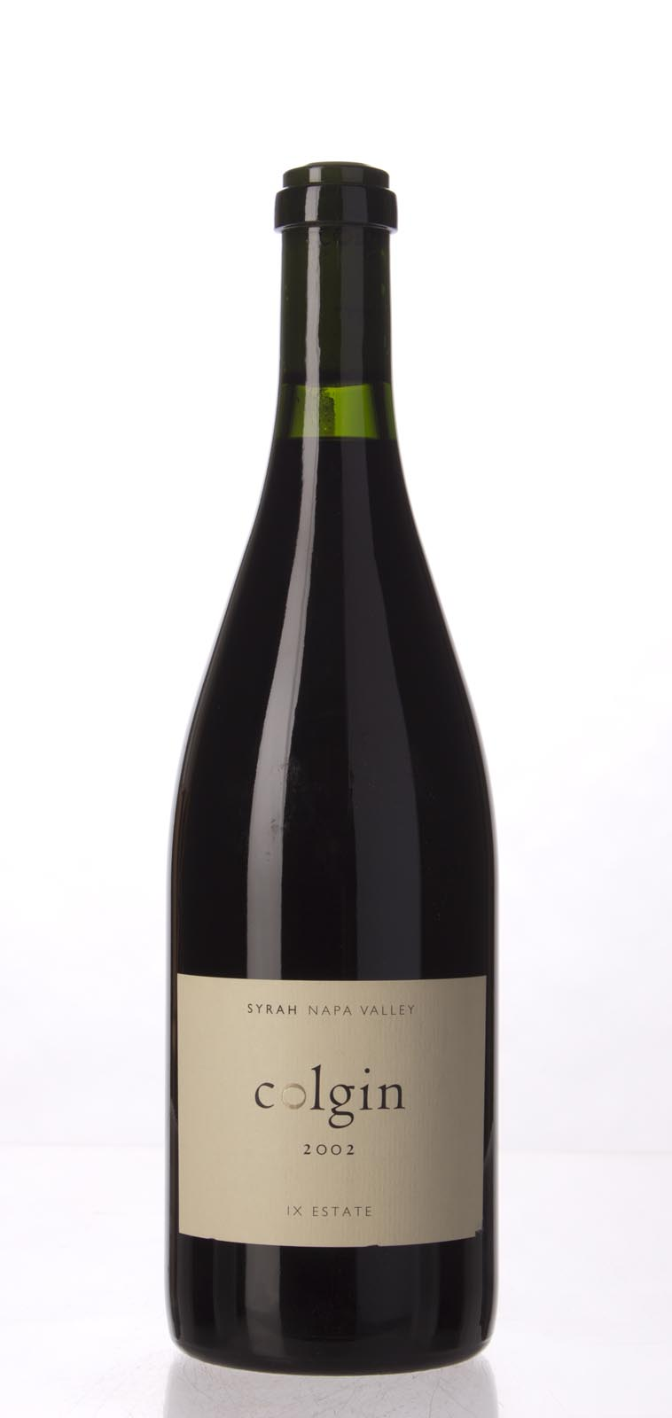 Colgin Syrah IX Estate 2002, 750mL (WA95, ST93, WS95) from The BPW - Merchants of rare and fine wines.