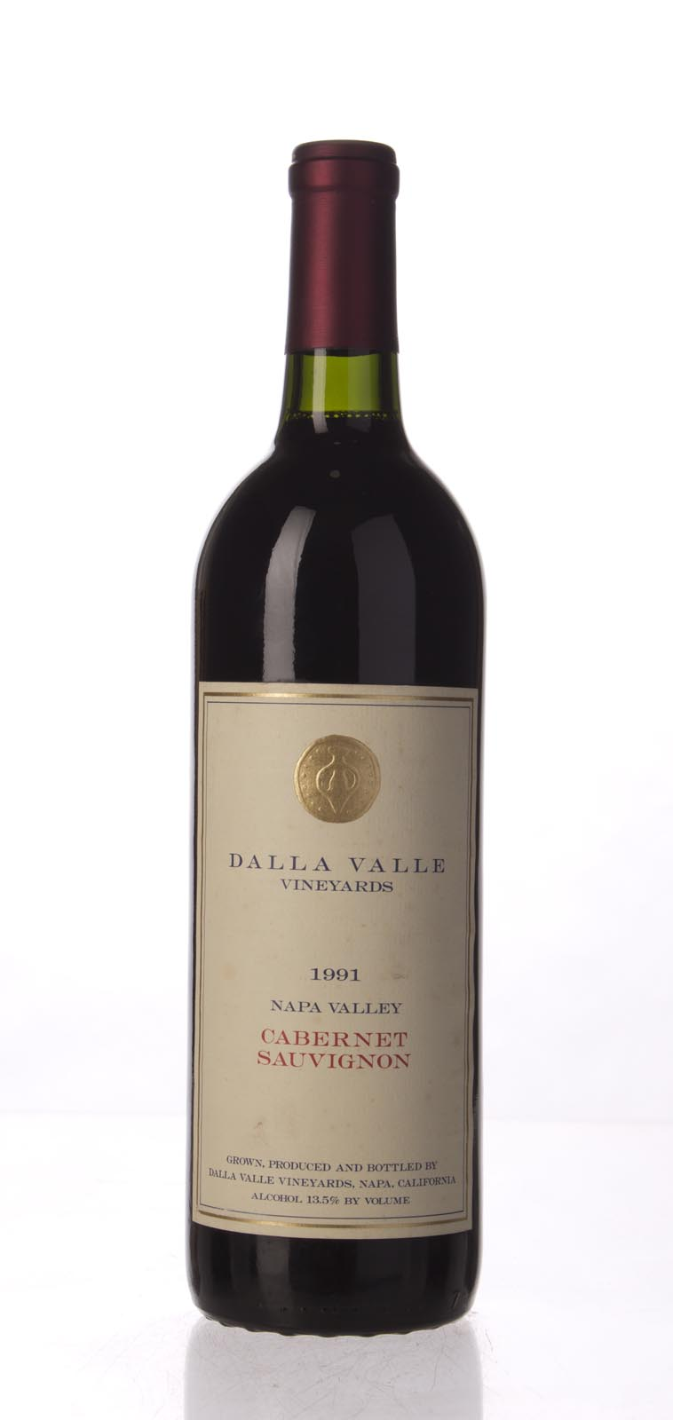 Dalla Valle Cabernet Sauvignon Estate 1991,  (WA94) from The BPW - Merchants of rare and fine wines.