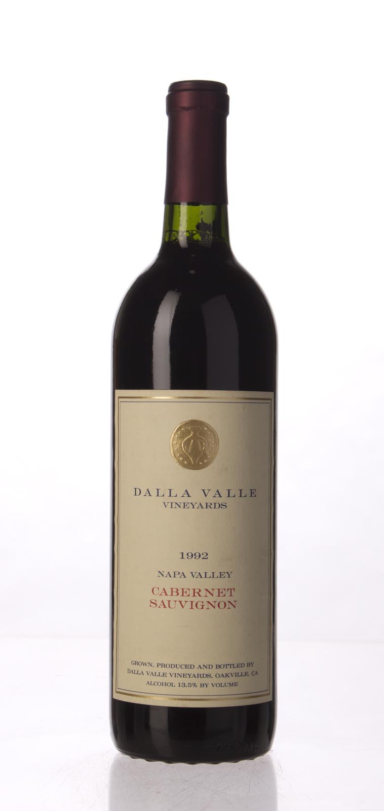 Dalla Valle Cabernet Sauvignon Estate 1992, 750mL (WA95) from The BPW - Merchants of rare and fine wines.