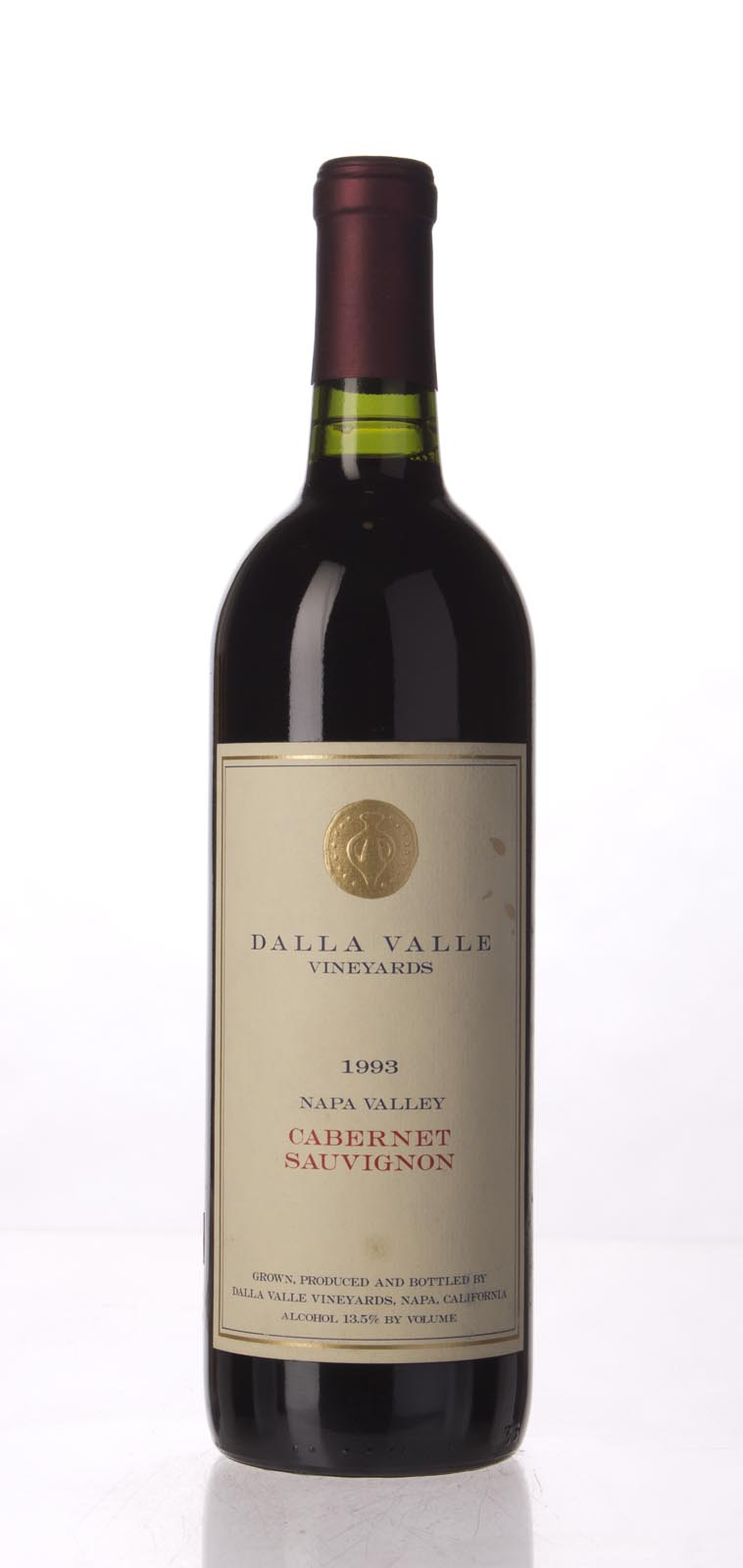 Dalla Valle Cabernet Sauvignon Estate 1993, 750mL (WA93, WS91) from The BPW - Merchants of rare and fine wines.