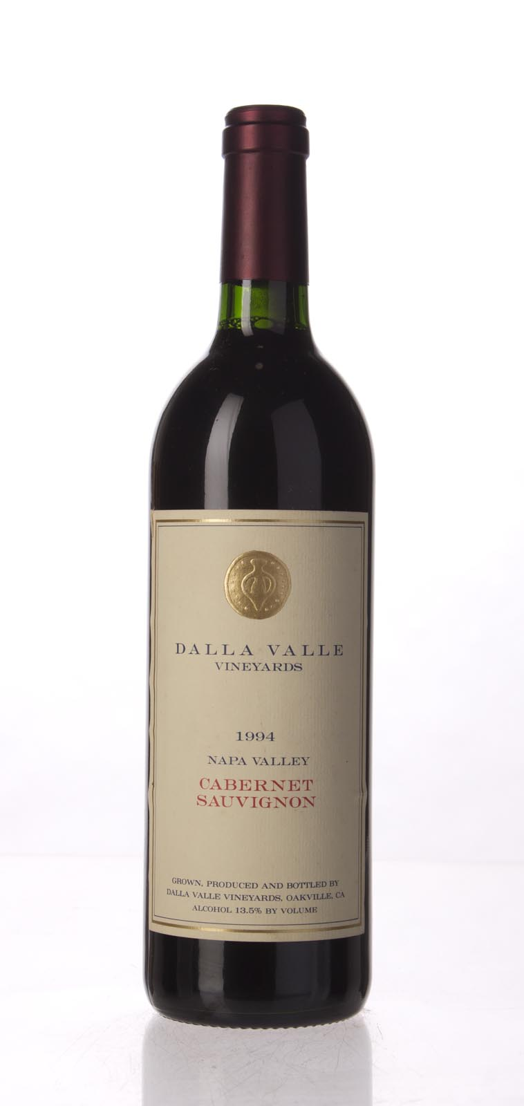 Dalla Valle Cabernet Sauvignon Estate 1994, 750mL (WA94, WS94) from The BPW - Merchants of rare and fine wines.