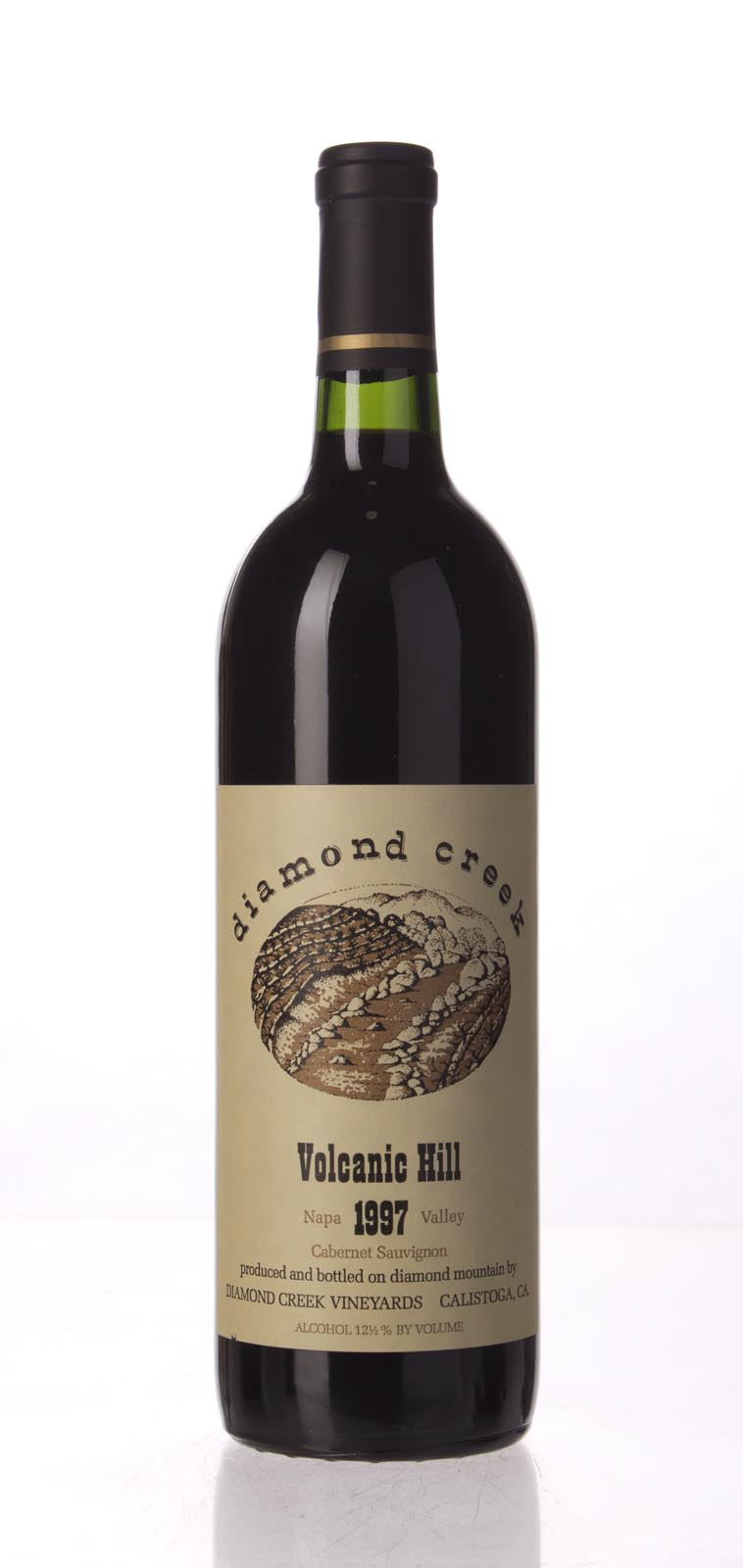 Diamond Creek Cabernet Sauvignon Volcanic Hill 1997, 750mL (WS93) from The BPW - Merchants of rare and fine wines.