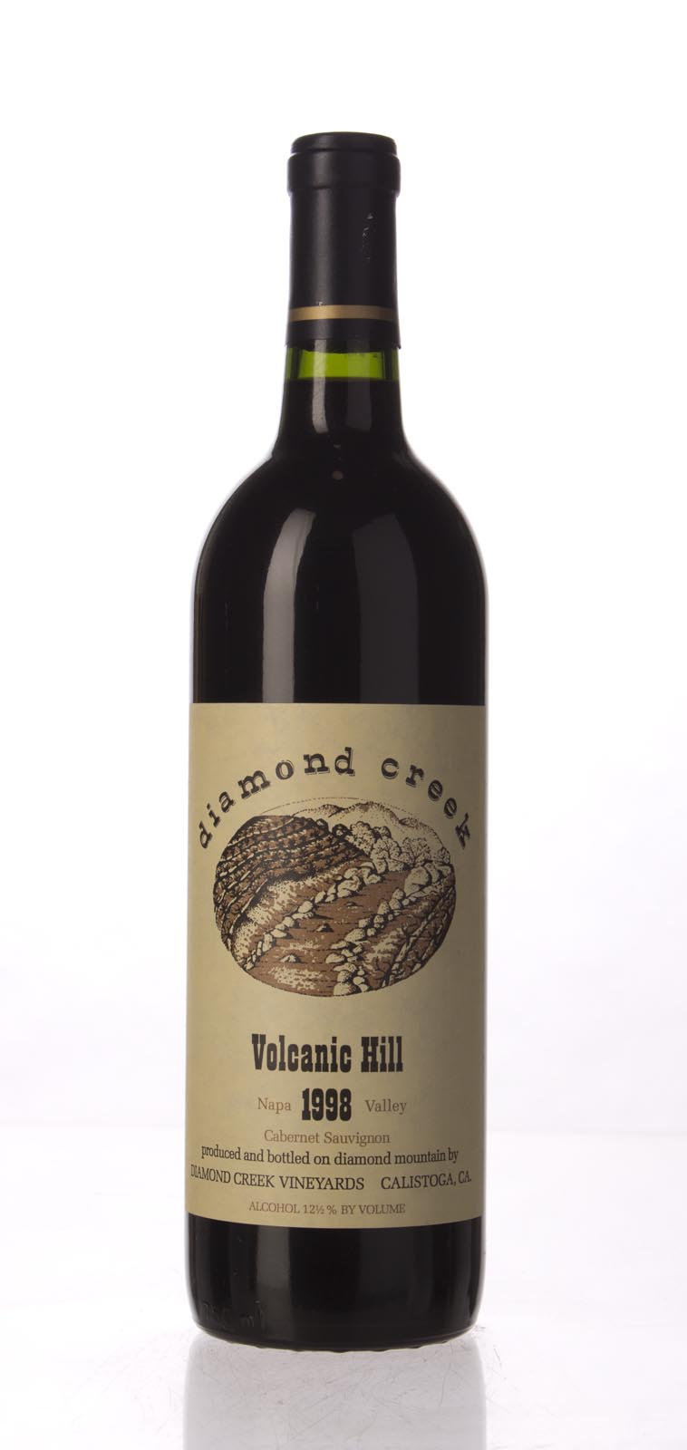 Diamond Creek Cabernet Sauvignon Volcanic Hill 1998, 750mL (WS94) from The BPW - Merchants of rare and fine wines.