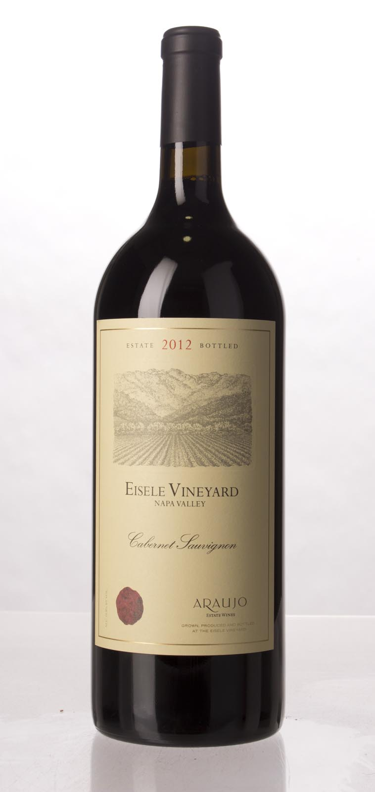 Araujo Estate Cabernet Sauvignon Eisele Vineyard 2012, 1.5L (WA97, JS98) from The BPW - Merchants of rare and fine wines.