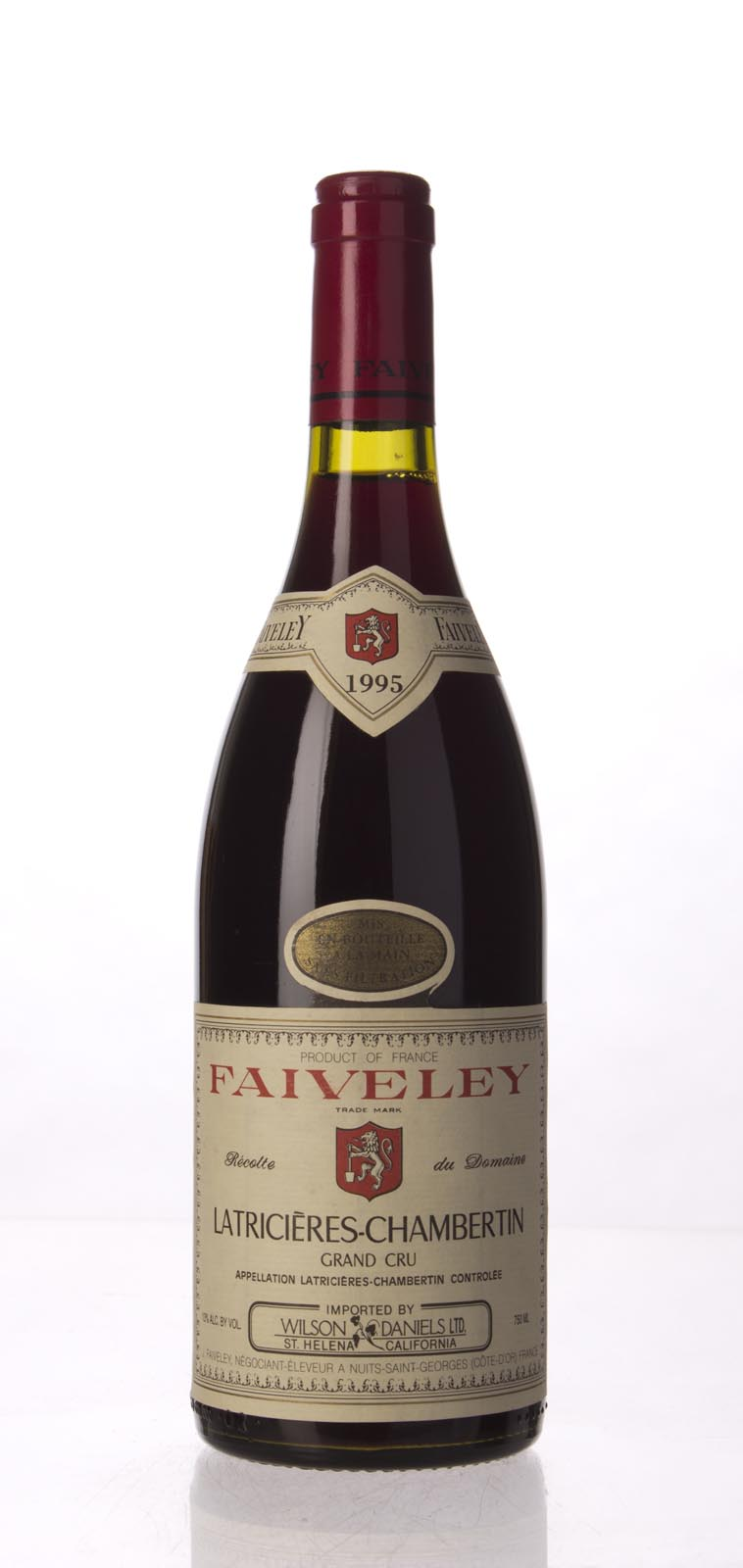 Faiveley Latricieres Chambertin 1995, 750mL () from The BPW - Merchants of rare and fine wines.