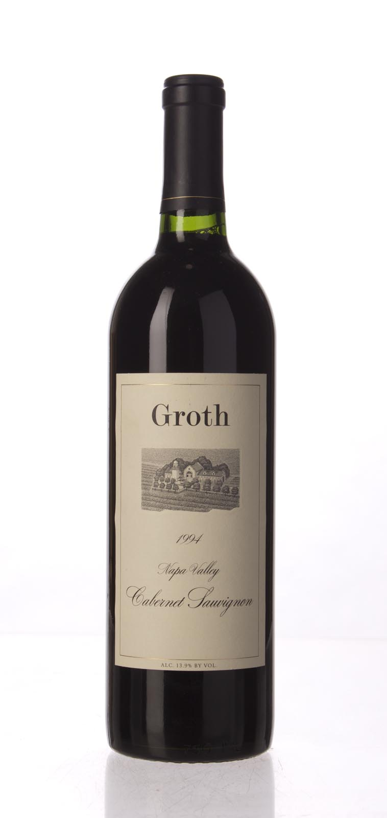 Groth Vineyards Cabernet Sauvignon Napa Valley 1994, 750mL () from The BPW - Merchants of rare and fine wines.