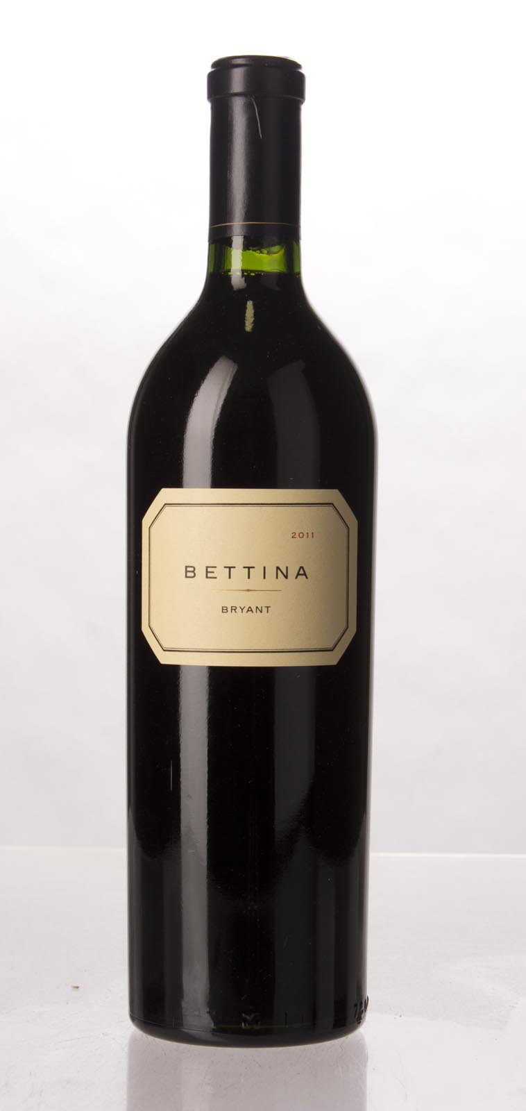 Bryant Family Vineyard Proprietary Red Bettina Bryant 2011, 750mL (AG92+, WA90-92) from The BPW - Merchants of rare and fine wines.