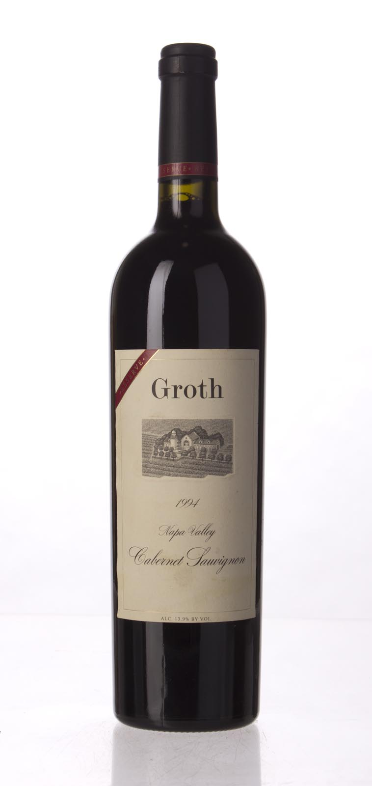 Groth Vineyards Cabernet Sauvignon Reserve 1994, 750mL (WS96) from The BPW - Merchants of rare and fine wines.
