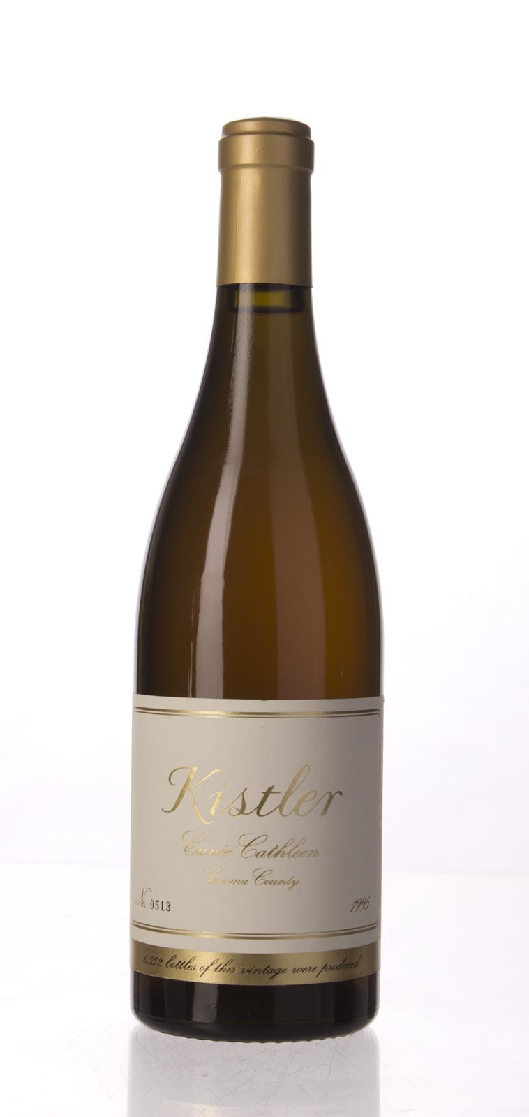 Kistler Chardonnay Cuvee Cathleen 1995, 750mL (WA94) from The BPW - Merchants of rare and fine wines.