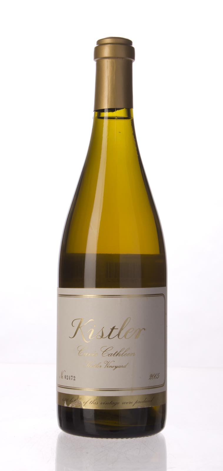 Kistler Chardonnay Cuvee Cathleen 2005, 750mL (WA96-100) from The BPW - Merchants of rare and fine wines.