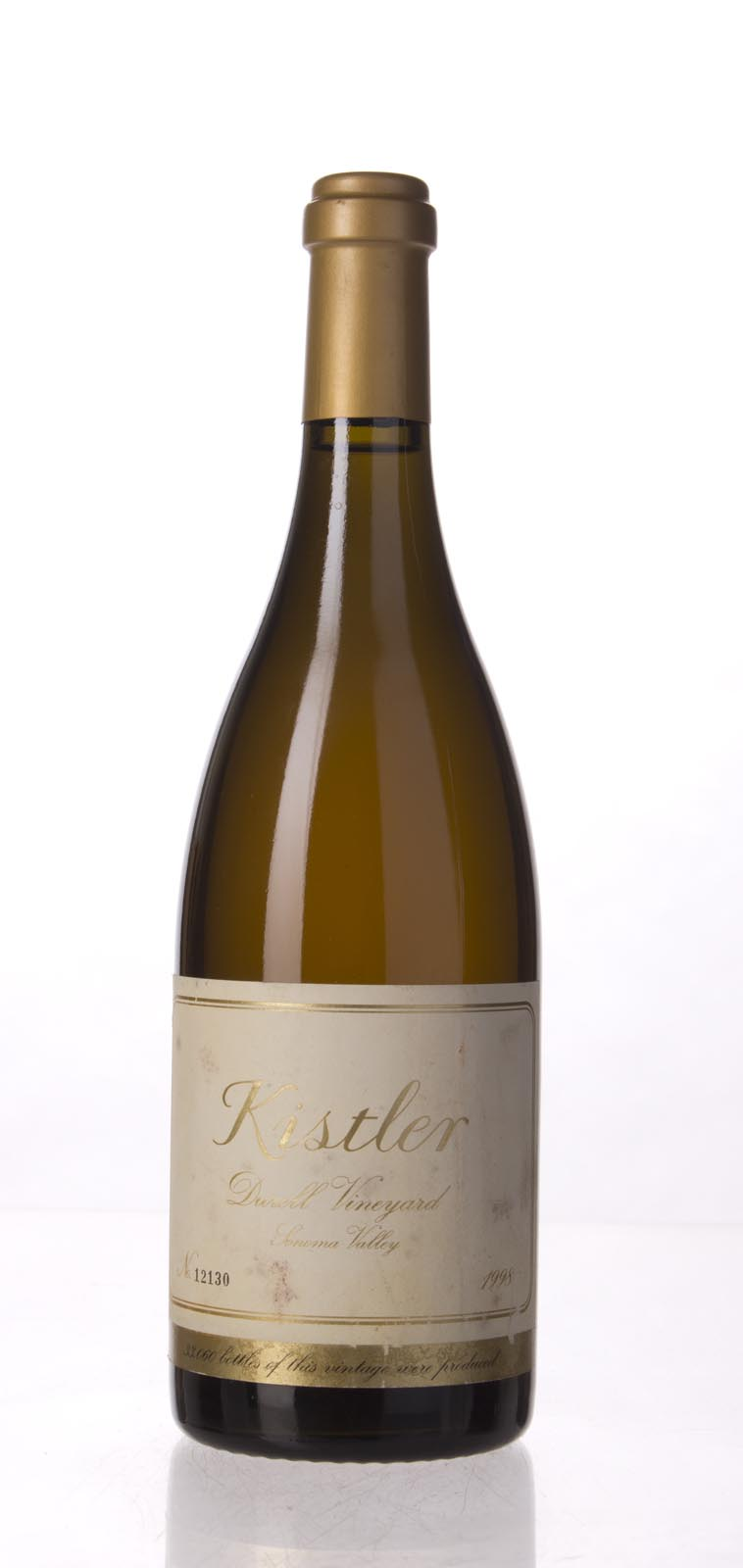 Kistler Chardonnay Durell Vineyard 1998, 750mL (ST92, WS92) from The BPW - Merchants of rare and fine wines.