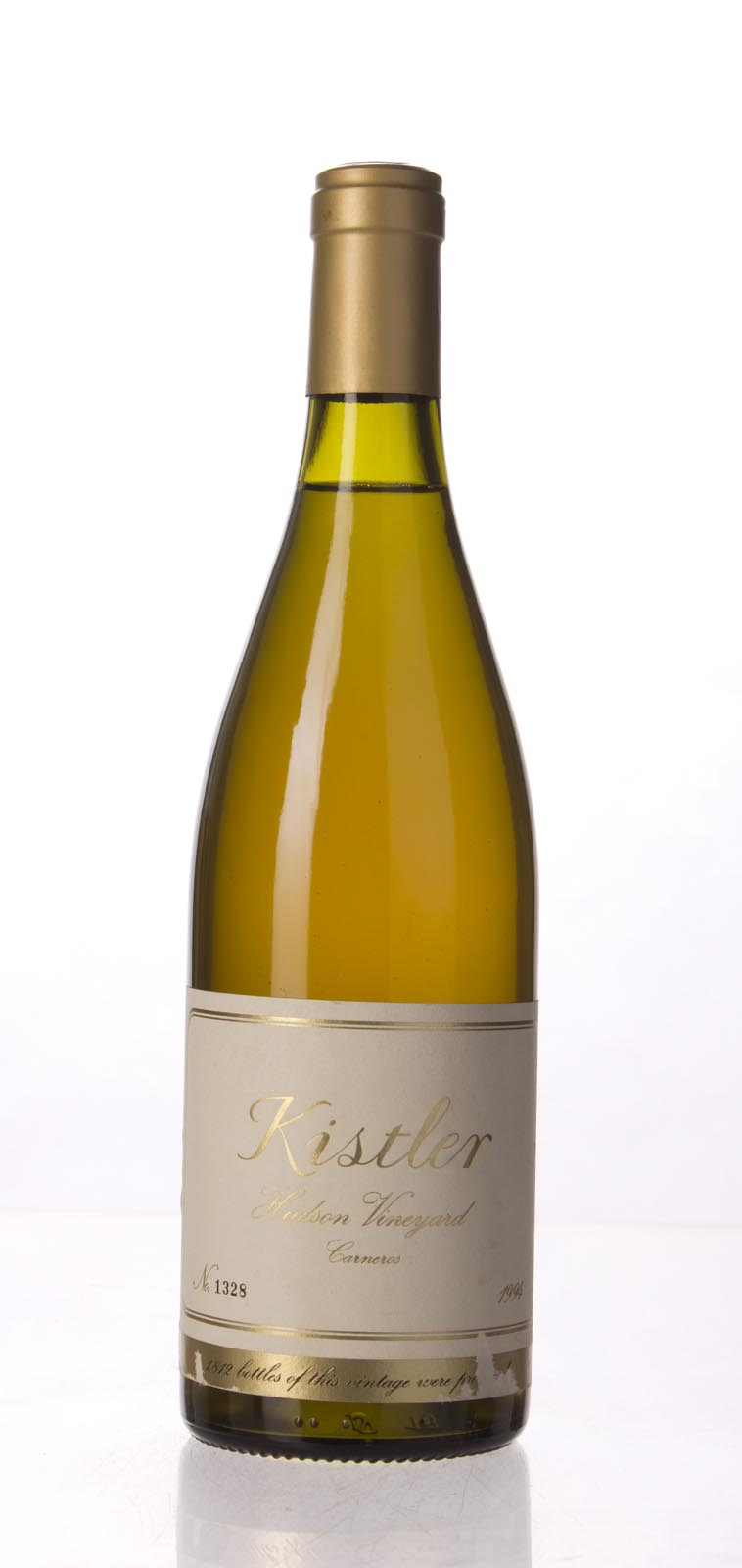 Kistler Chardonnay Hudson Vineyard 1994, 750mL (WA95) from The BPW - Merchants of rare and fine wines.