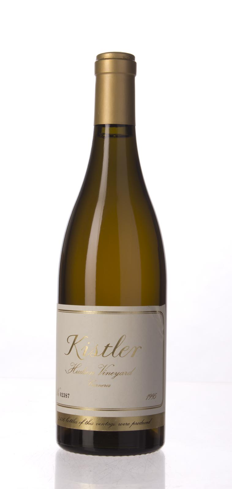 Kistler Chardonnay Hudson Vineyard 1995, 750mL (WA95, ST93+) from The BPW - Merchants of rare and fine wines.