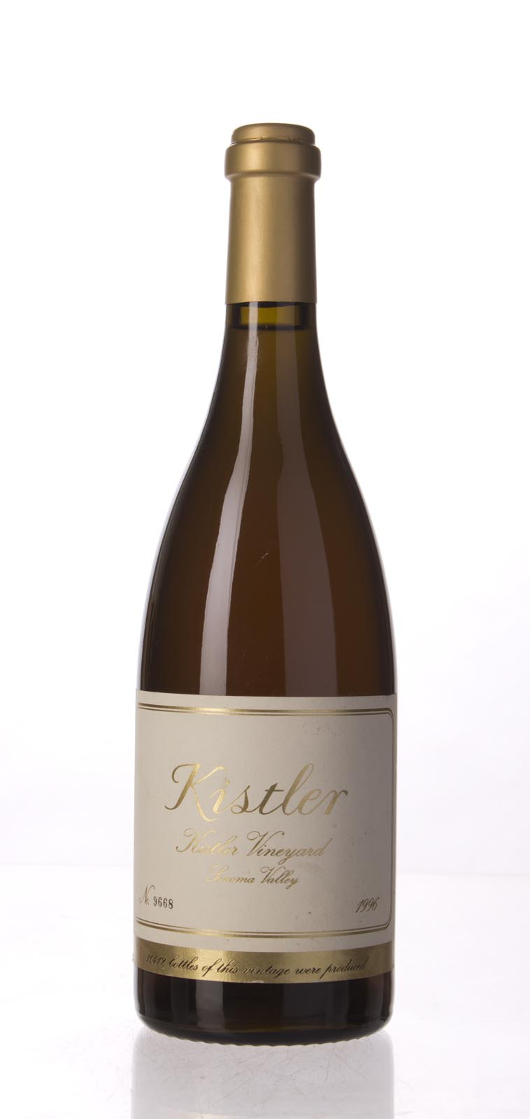 Kistler Chardonnay Kistler Vineyard 1996,  (WS94) from The BPW - Merchants of rare and fine wines.