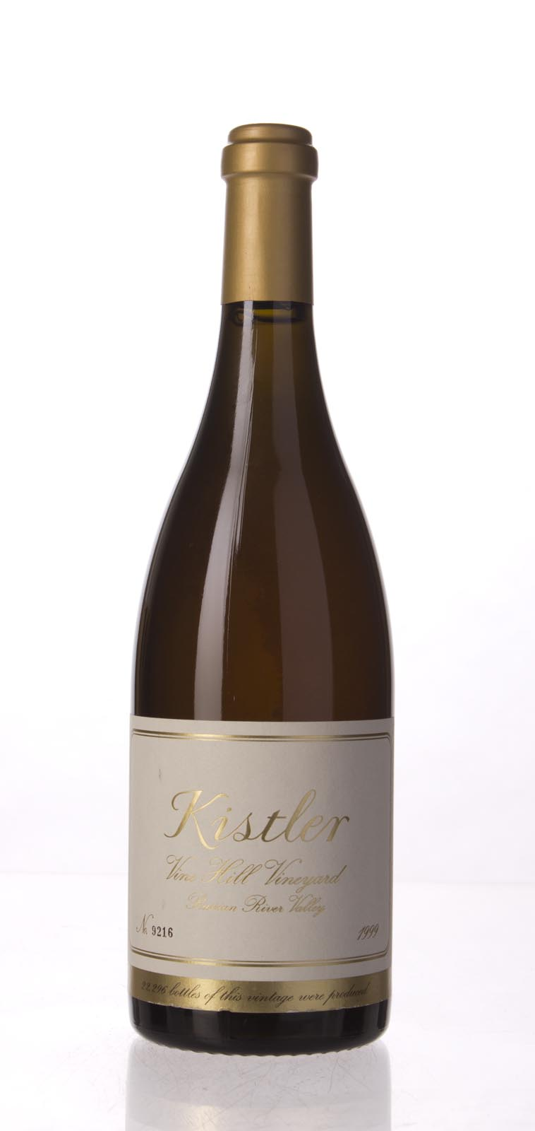 Kistler Chardonnay Vine Hill Road Vineyard 1999, 750mL (WA94-97) from The BPW - Merchants of rare and fine wines.