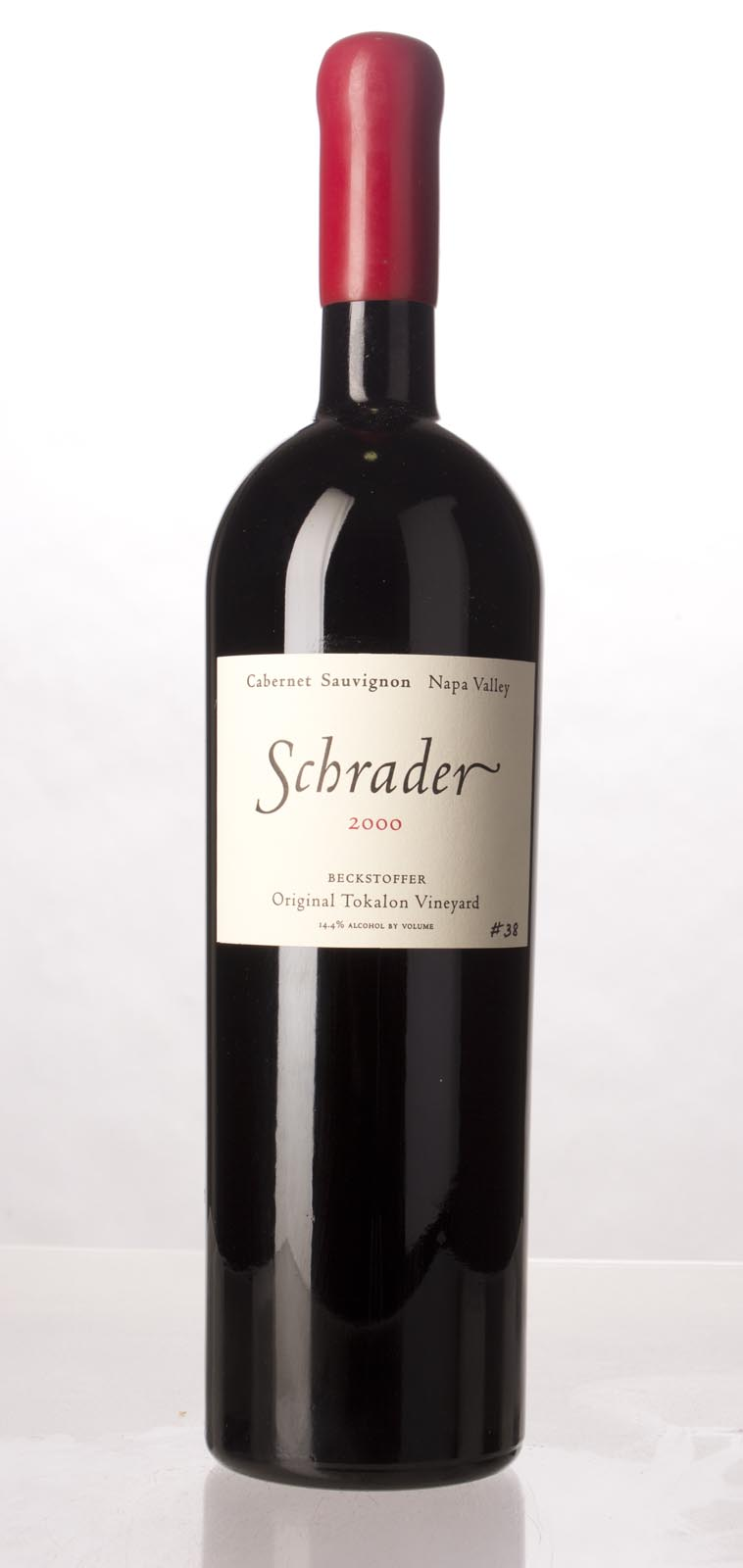 Schrader Cellars Cabernet Sauvignon Beckstoffer To Kalon Vineyard 2000, 1.5L () from The BPW - Merchants of rare and fine wines.