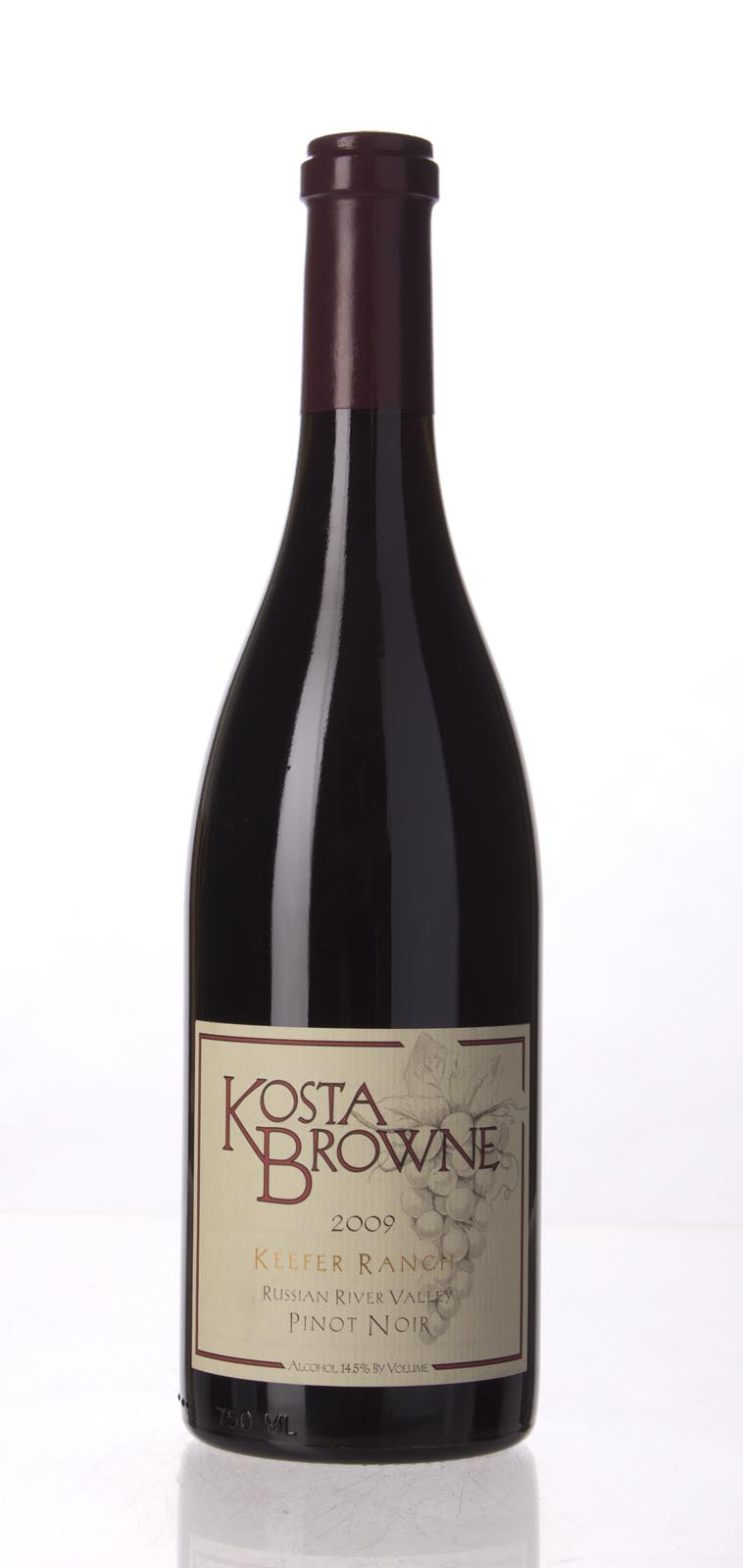 Kosta Browne Pinot Noir Keefer Ranch 2009, 750mL (WA92, ST93, WS94) from The BPW - Merchants of rare and fine wines.