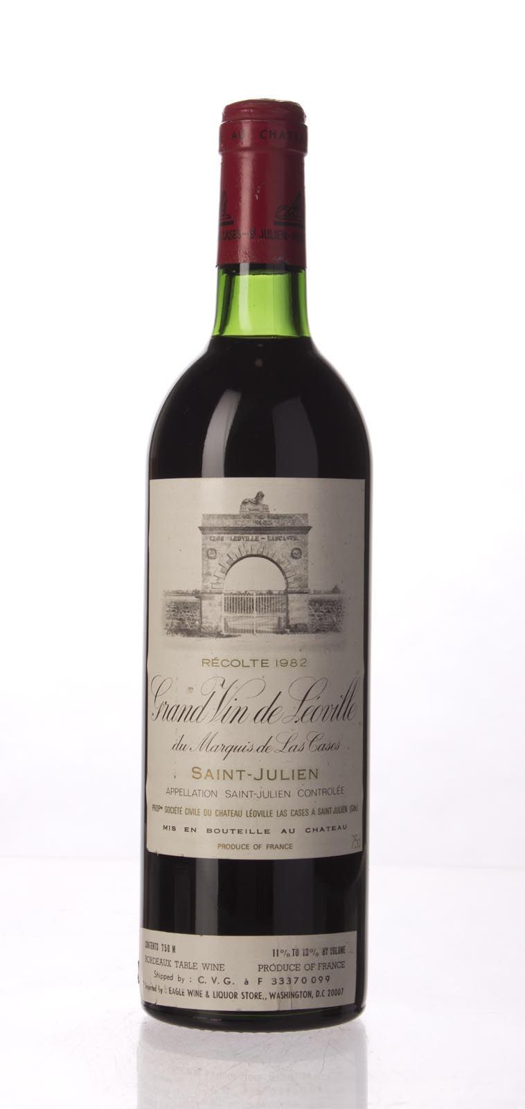 Leoville Las Cases 1982, 750mL (WS98) from The BPW - Merchants of rare and fine wines.