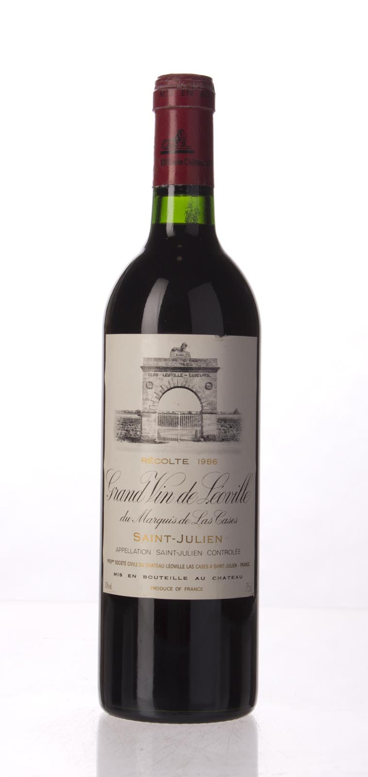 Leoville Las Cases 1986, 750mL (WA98, ST97, WS96) from The BPW - Merchants of rare and fine wines.