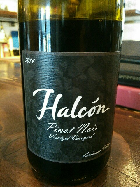 Halcon Pinot Noir Wentzel Vineyard 2014, 750ml () from The BPW - Merchants of rare and fine wines.