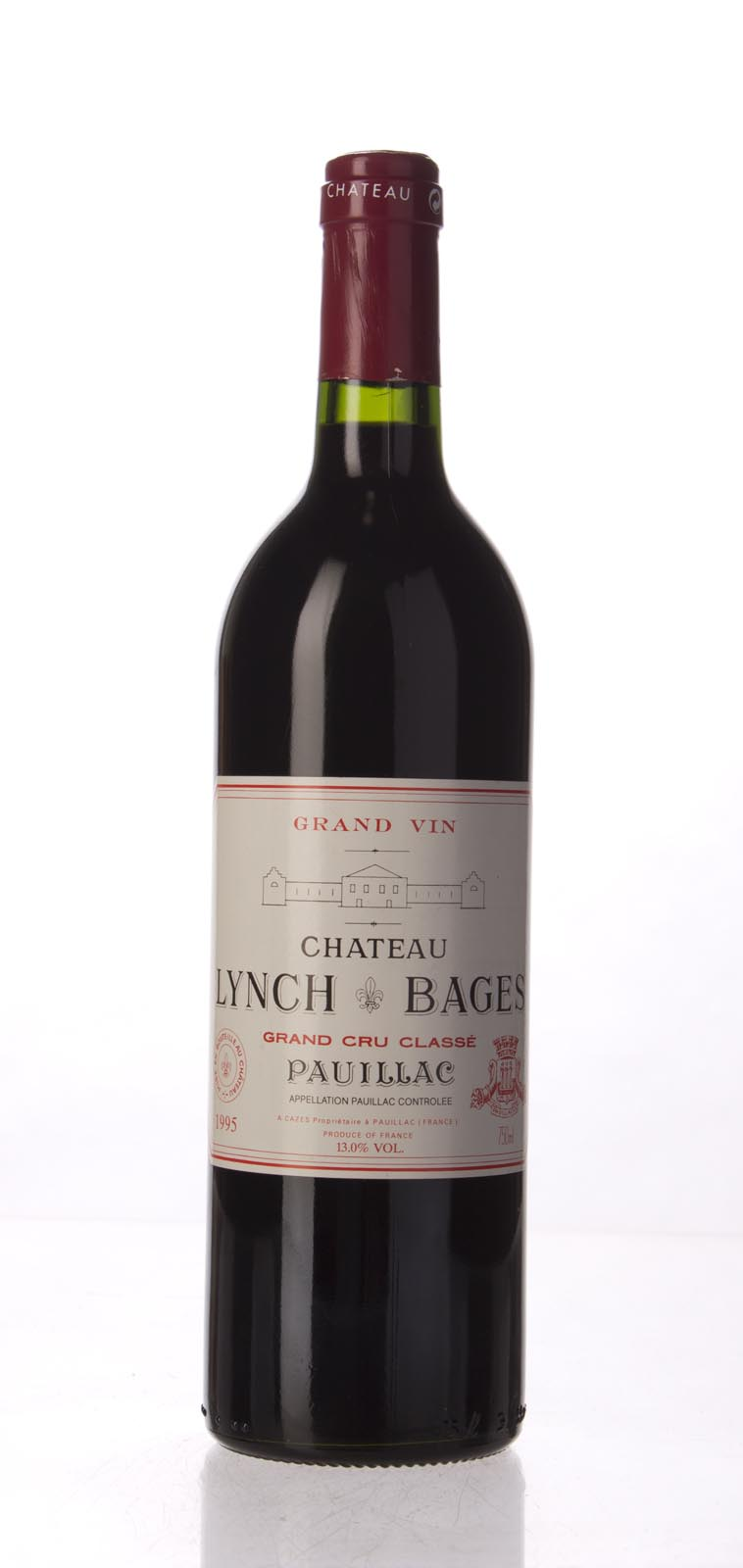 Lynch Bages 1995, 750mL (WS91) from The BPW - Merchants of rare and fine wines.