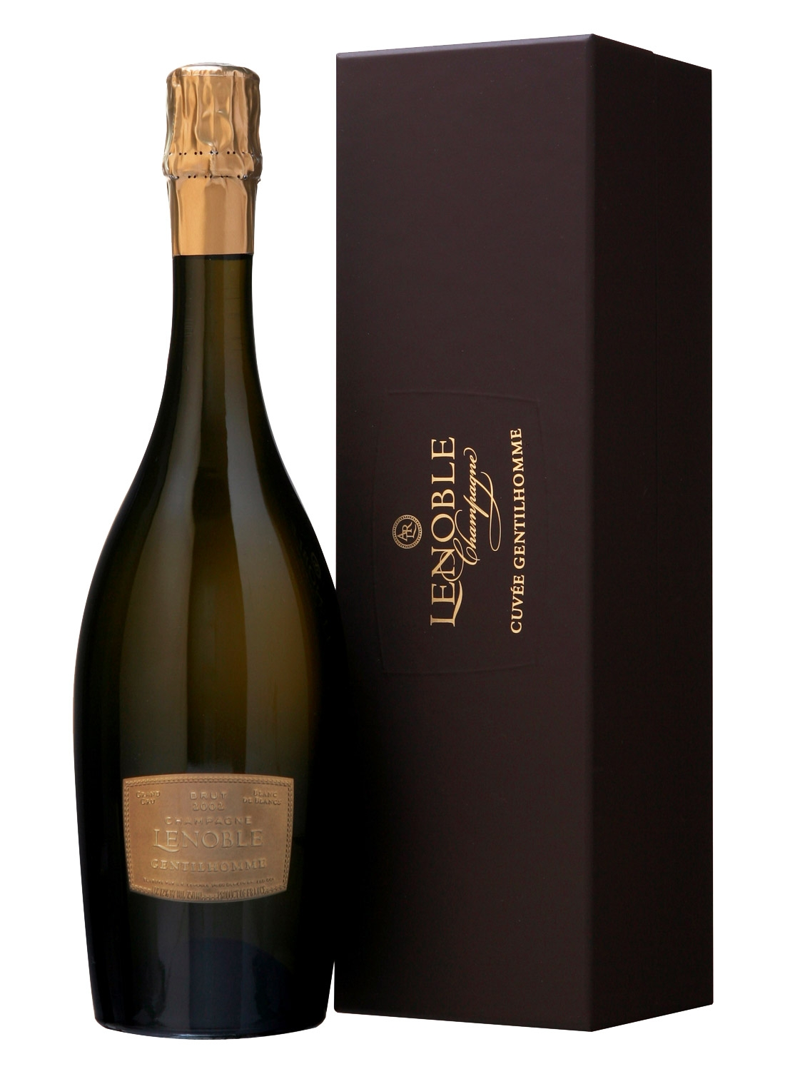 Domaine A. R. Lenoble Gentilhomme Blanc de Blancs Grand Cru 2009,  () from The BPW - Merchants of rare and fine wines.