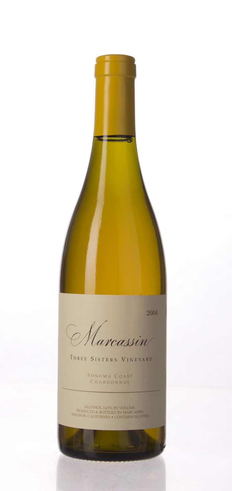 Marcassin Chardonnay Three Sisters Vineyard 2004, 750mL (WA95, WS94) from The BPW - Merchants of rare and fine wines.
