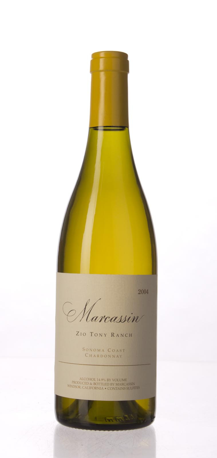 Marcassin Chardonnay Zio Tony Ranch 2004, 750mL (ST94, WS96) from The BPW - Merchants of rare and fine wines.