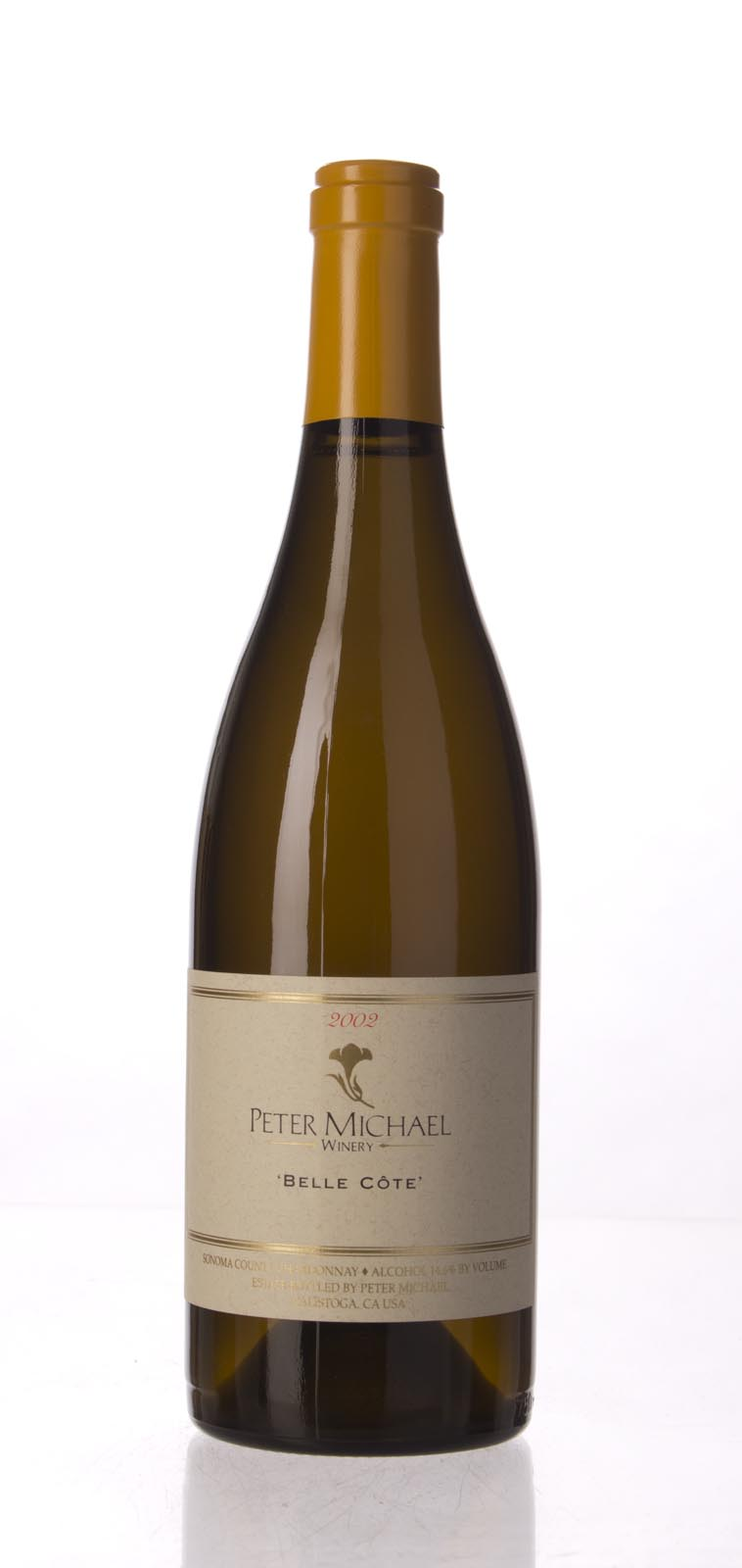 Peter Michael Winery Chardonnay Belle Cote 2002, 750mL (WA95-98) from The BPW - Merchants of rare and fine wines.