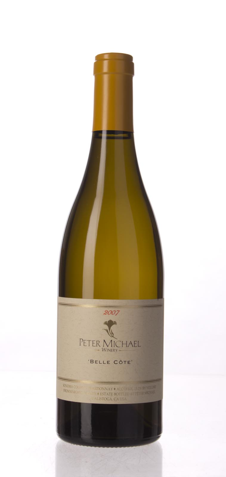 Peter Michael Winery Chardonnay Belle Cote 2007, 750mL (WA95, ST94, WS94) from The BPW - Merchants of rare and fine wines.