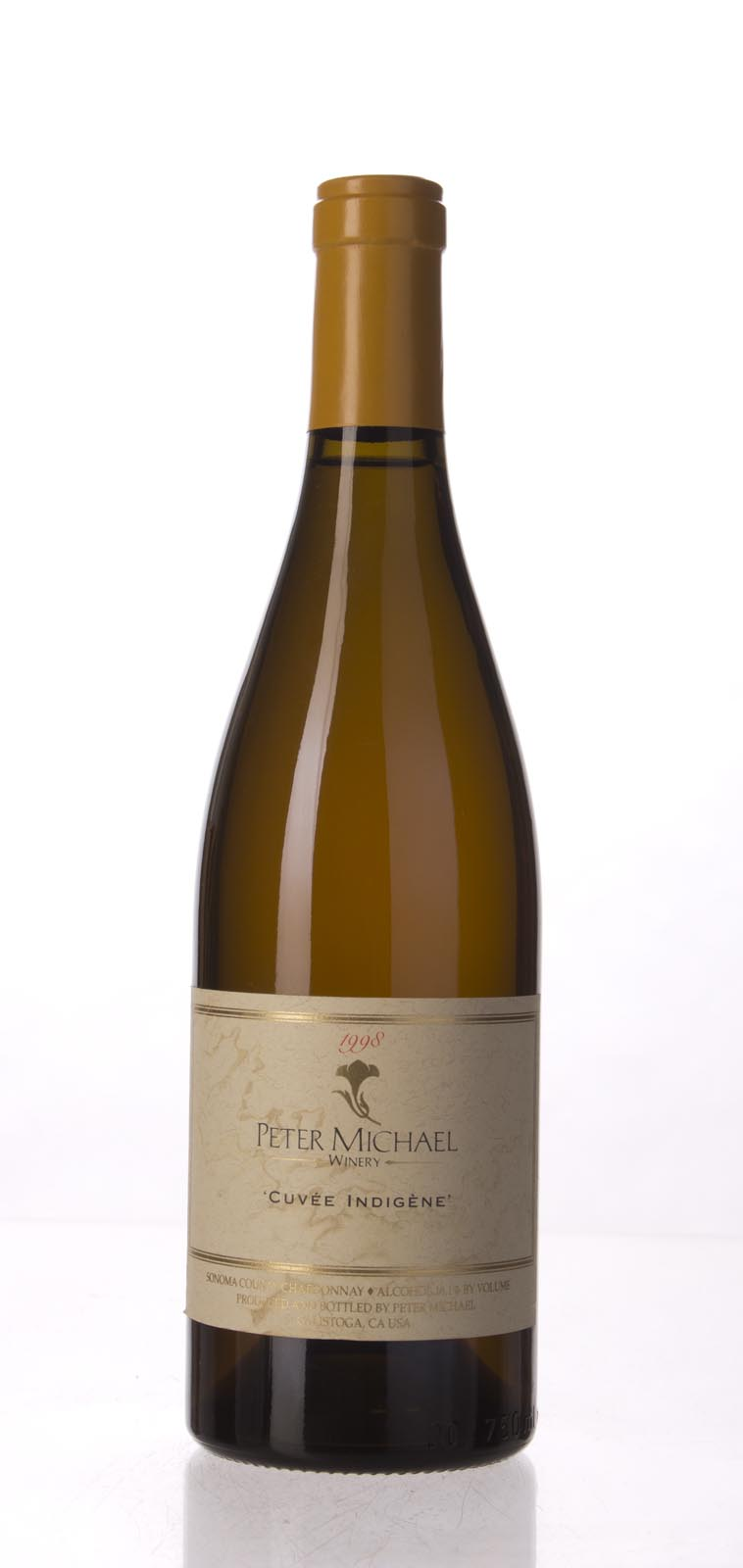 Peter Michael Winery Chardonnay Cuvee Indigene 1998, 750mL (WA96, ST94) from The BPW - Merchants of rare and fine wines.