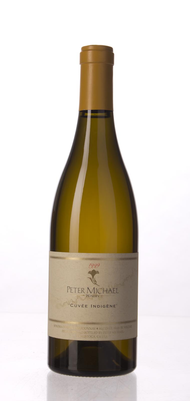Peter Michael Winery Chardonnay Cuvee Indigene 1999, 750mL (WA93, ST93, WS92) from The BPW - Merchants of rare and fine wines.