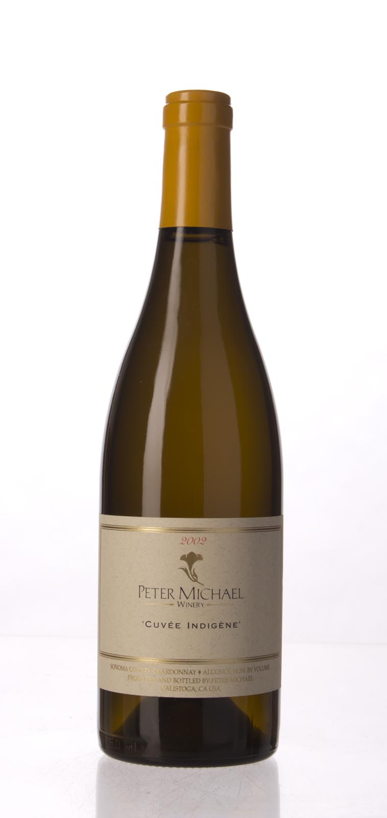 Peter Michael Winery Chardonnay Cuvee Indigene 2002, 750mL (WA93-95, ST94) from The BPW - Merchants of rare and fine wines.