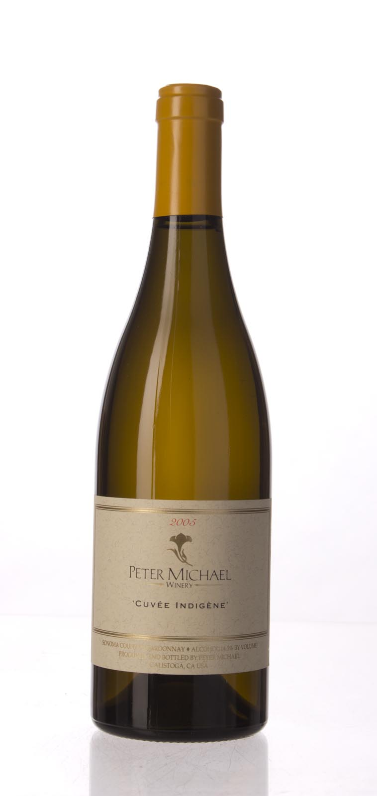 Peter Michael Winery Chardonnay Cuvee Indigene 2005, 750mL (WA96) from The BPW - Merchants of rare and fine wines.