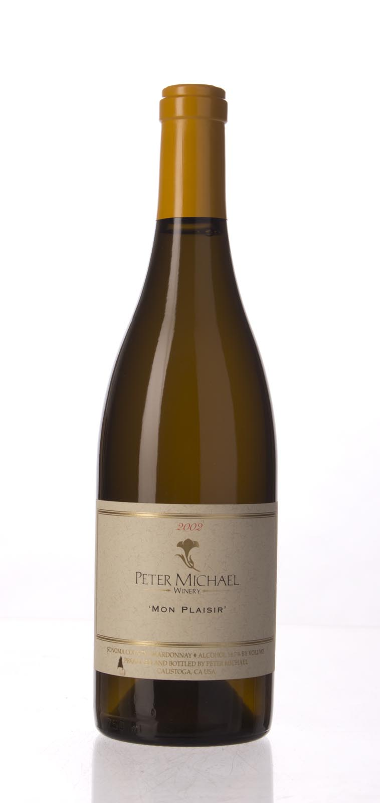 Peter Michael Winery Chardonnay Mon Plaisir 2002, 750mL (WA92-94, WS95) from The BPW - Merchants of rare and fine wines.