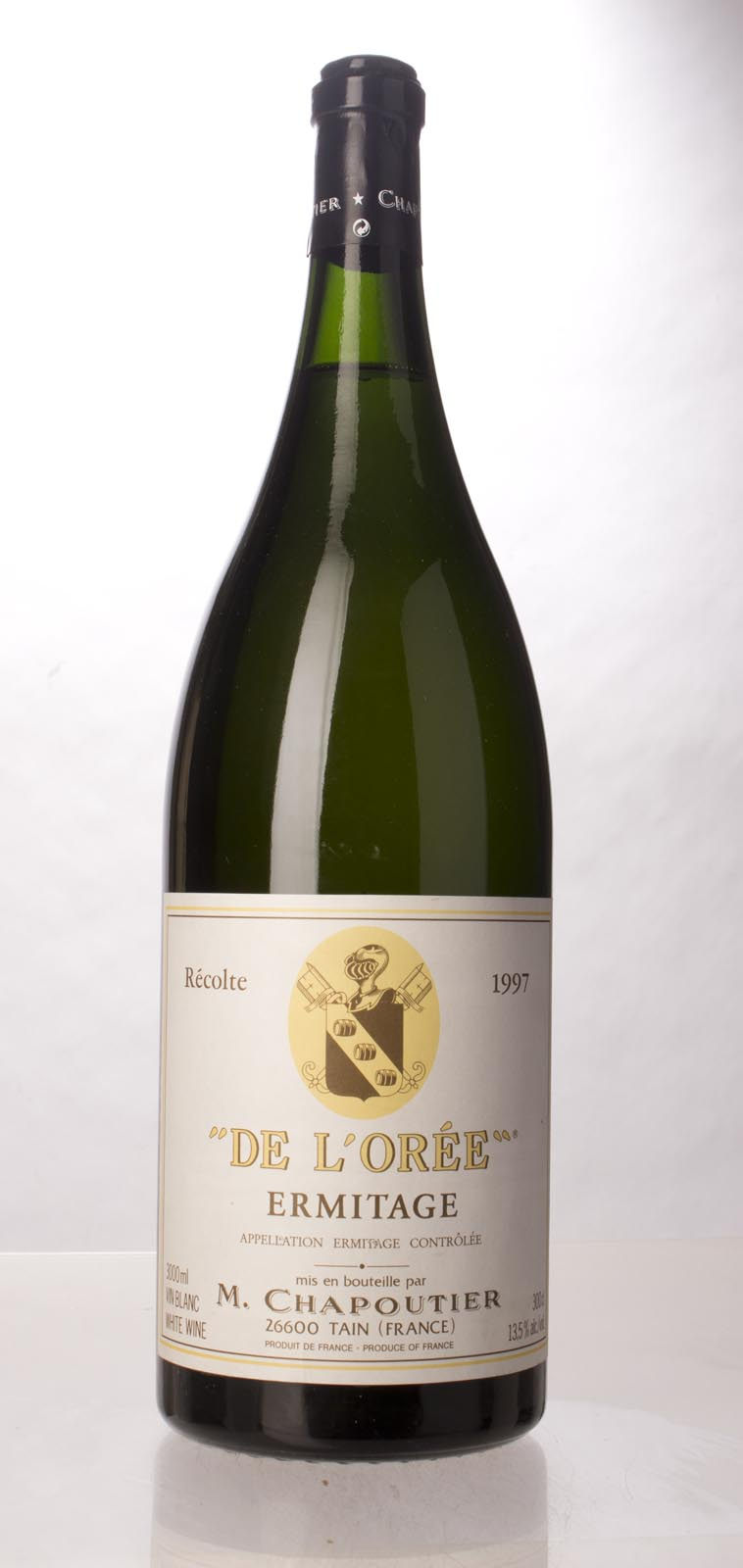 Chapoutier Ermitage Blanc Cuvee de l`Oree 1997, 3L (WA98-100) from The BPW - Merchants of rare and fine wines.