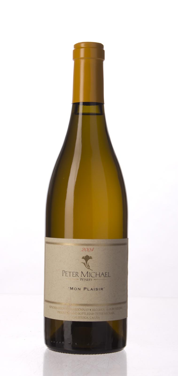 Peter Michael Winery Chardonnay Mon Plaisir 2004, 750mL (WA94, WS93) from The BPW - Merchants of rare and fine wines.