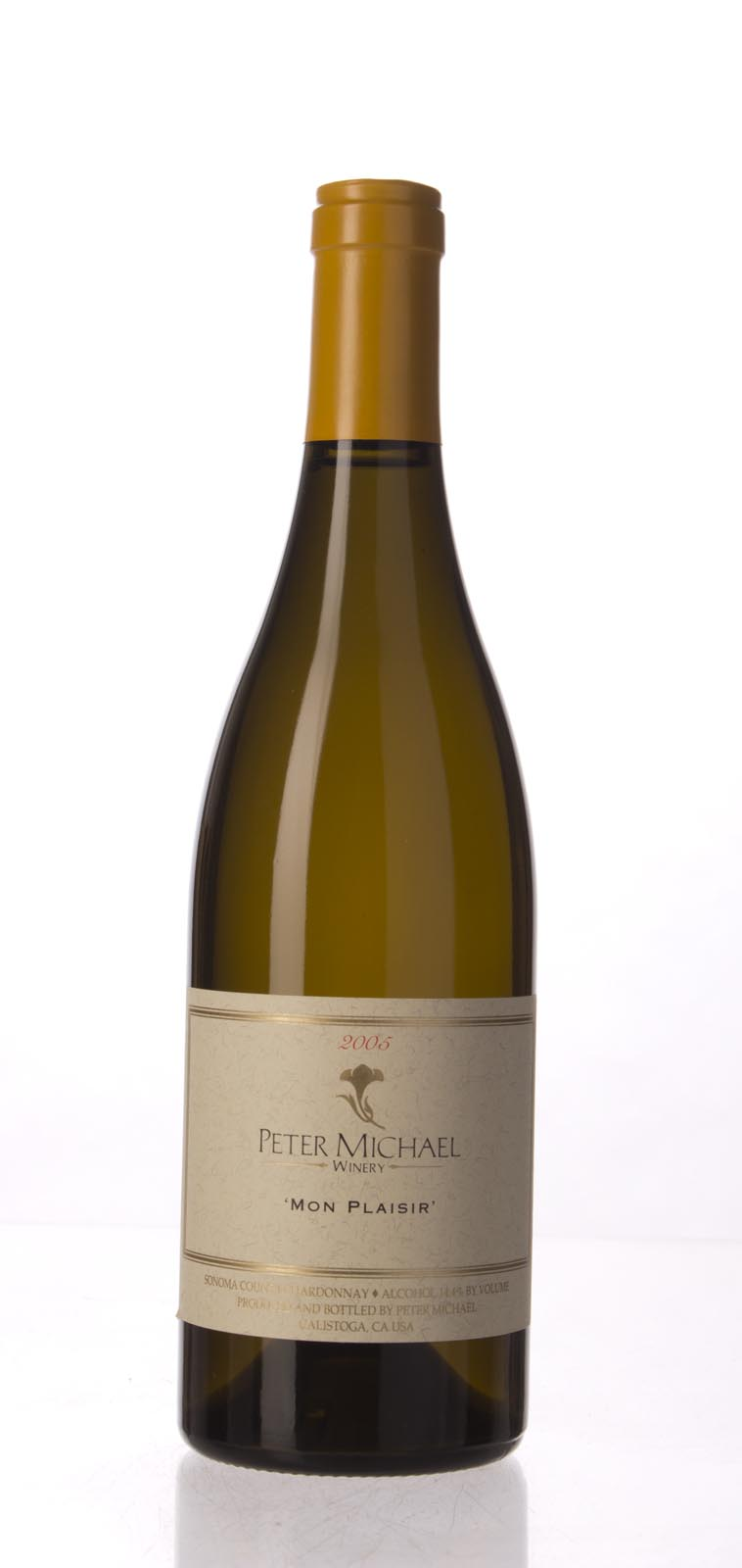 Peter Michael Winery Chardonnay Mon Plaisir 2005, 750mL (WA94) from The BPW - Merchants of rare and fine wines.