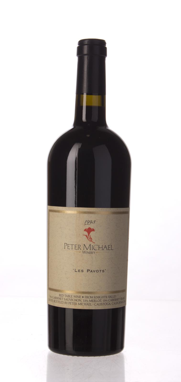 Peter Michael Winery Proprietary Red Les Pavots 1993, 750mL (WA92) from The BPW - Merchants of rare and fine wines.