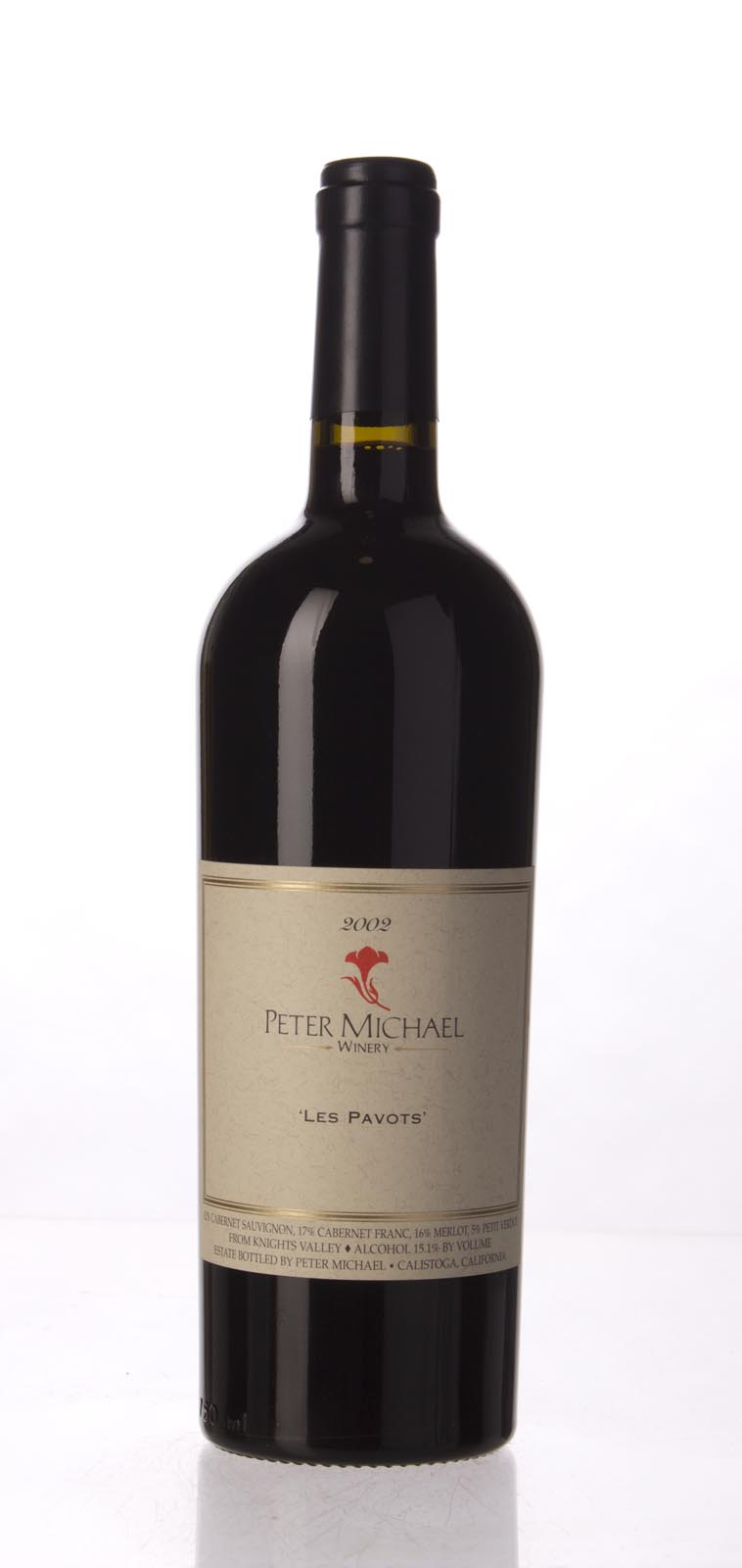 Peter Michael Winery Proprietary Red Les Pavots 2002, 750mL (WA99) from The BPW - Merchants of rare and fine wines.